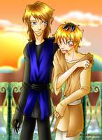 Collab - Anakin and Luke by Yuki-mono