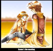Scene 1: the meeting. by Yuki-mono