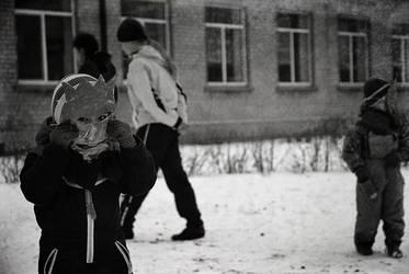 Lithuania, Orphanage visit V