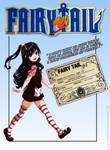 Fairy tail OC - Aiko Hakifusa [Id Card]