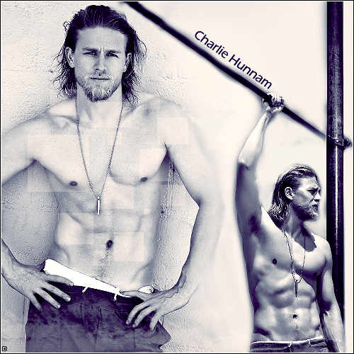 Charlie Hunnam art by DianaP