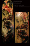 Shadowthane Skateboard by pallanoph