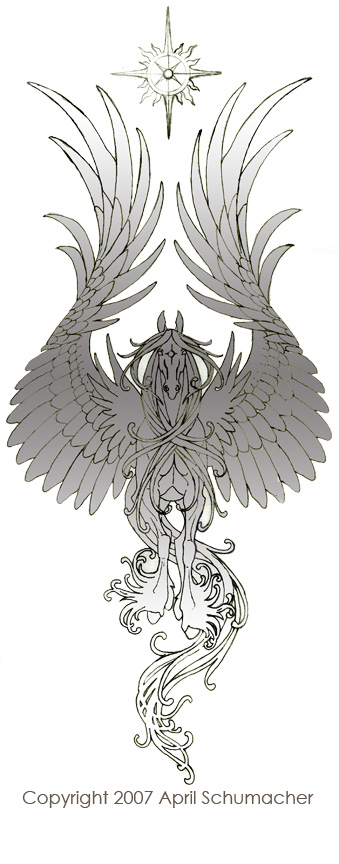 Ornamental Pegasus by pallanoph