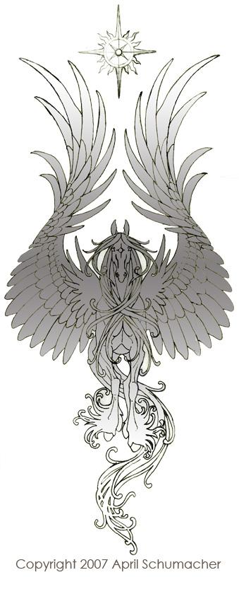 Ornamental Pegasus by pallanoph