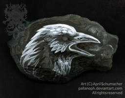 Corvid Symbol by pallanoph