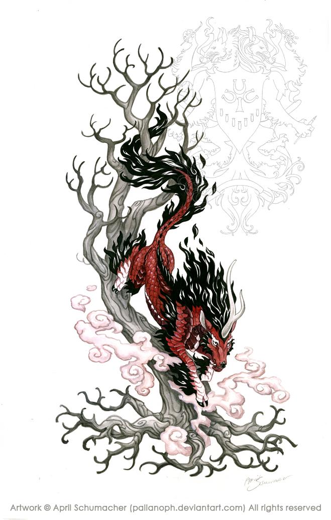 Kirin Tattoo: Final by pallanoph