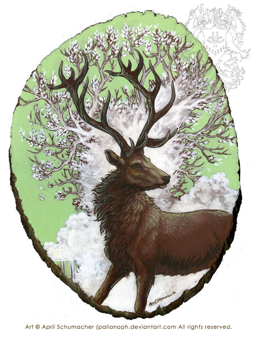 Red Stag: Reworked by pallanoph