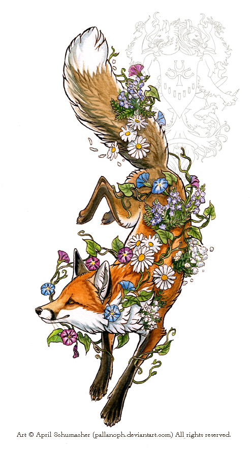 Spring Fox by pallanoph