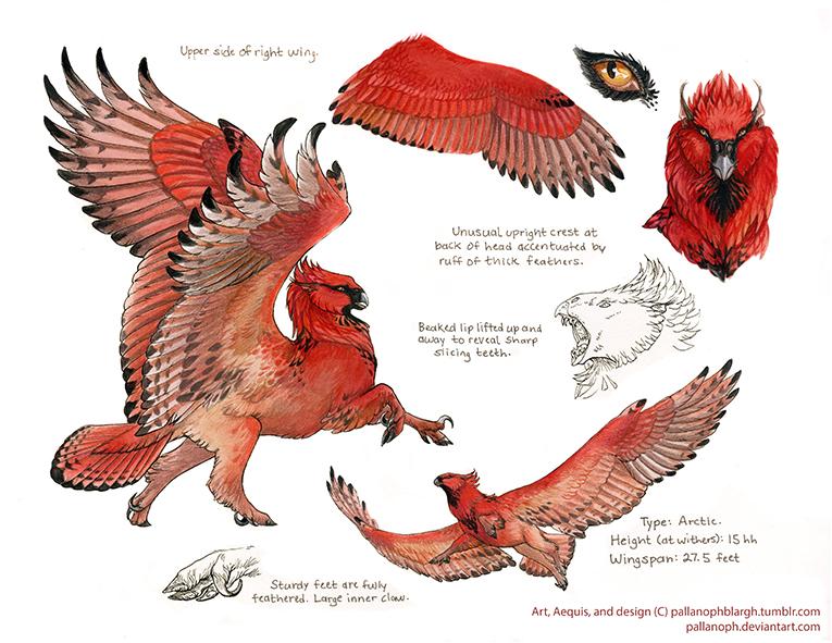 Custom Arctic Aequis: Cardinal by pallanoph