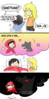 Rwby- Bedtime story(Art by Tsukiyuki-chan)