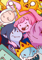 Adventure Time: Selfie Time!! by lucky1717123
