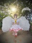 cosplay sakura from sakura card captor 1 by Lucy-Dark-Dreams