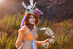 cosplay gnar from league of legends 1 by Lucy-Dark-Dreams
