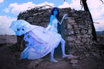 cosplay emily from corpse bride 2