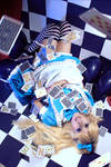 cosplay alice from alice in wonderland 1