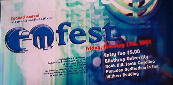 EM Fest poster by 1hundredmilesaway