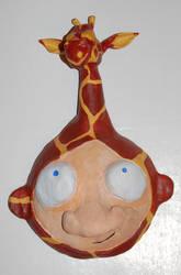 Giraffe Helmet by 1hundredmilesaway