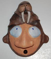 Walrus Helmet by 1hundredmilesaway