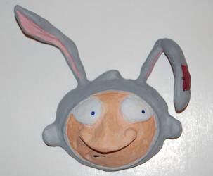 Rabbit Helmet by 1hundredmilesaway