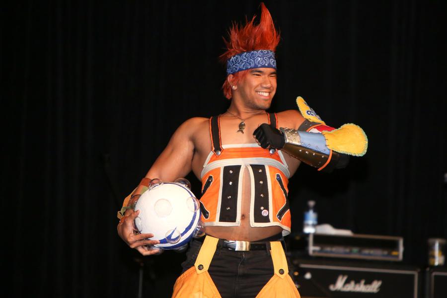 Mr. Wakka takes the stage 3 by ShinrajunkieCosplay