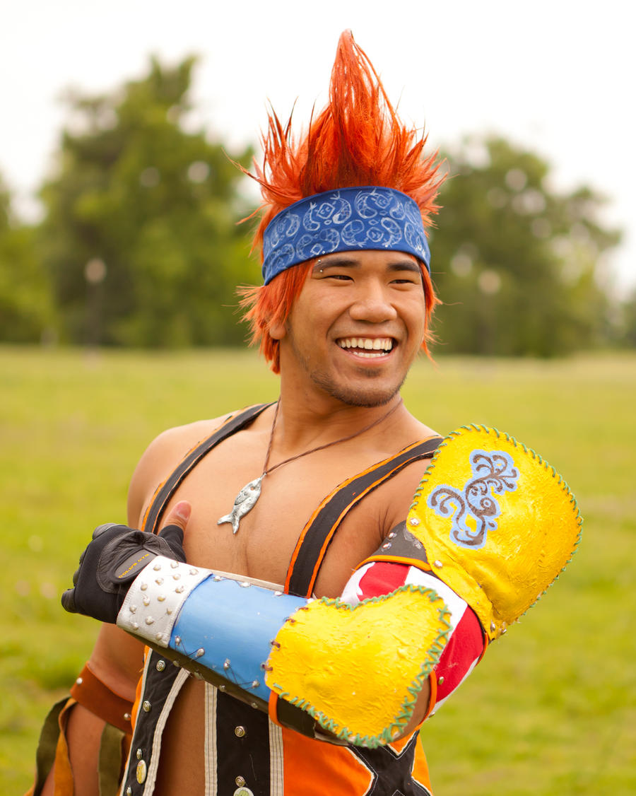 Happy wakka :3 by ShinrajunkieCosplay