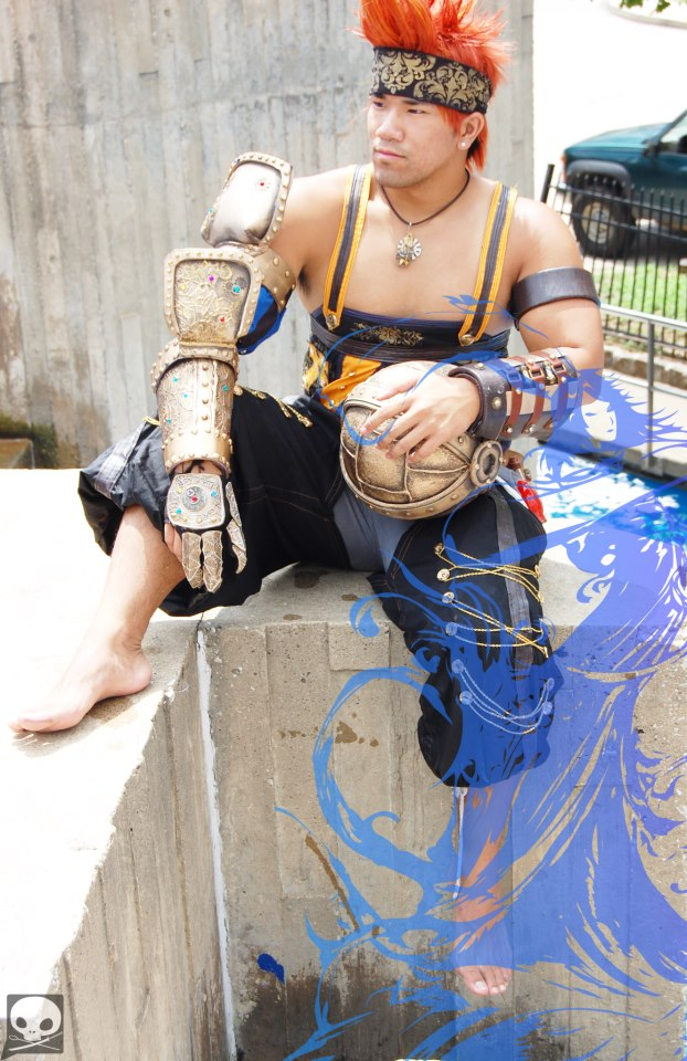 Machina X Wakka by ShinrajunkieCosplay