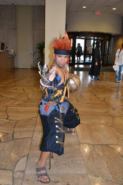 Machina X Wakka Fight by ShinrajunkieCosplay