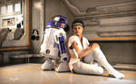 Chilling with Artoo