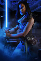 Kimberly Jedi Cosplay