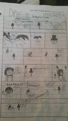 DRHG Bomby vs Hiroko (page 1) by DavidTheGreat5