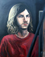 Self Portrait by FrankHeilerArt