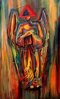 Acid Angel by FrankHeilerArt
