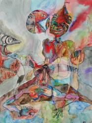 Psychotropic Compass by FrankHeilerArt