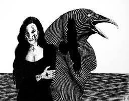 A Crow's Dream by FrankHeilerArt