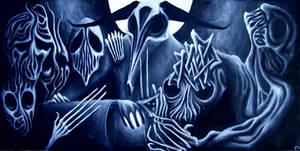 The Dead Feast by FrankHeilerArt