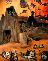 Hell - After Bosch by FrankHeilerArt