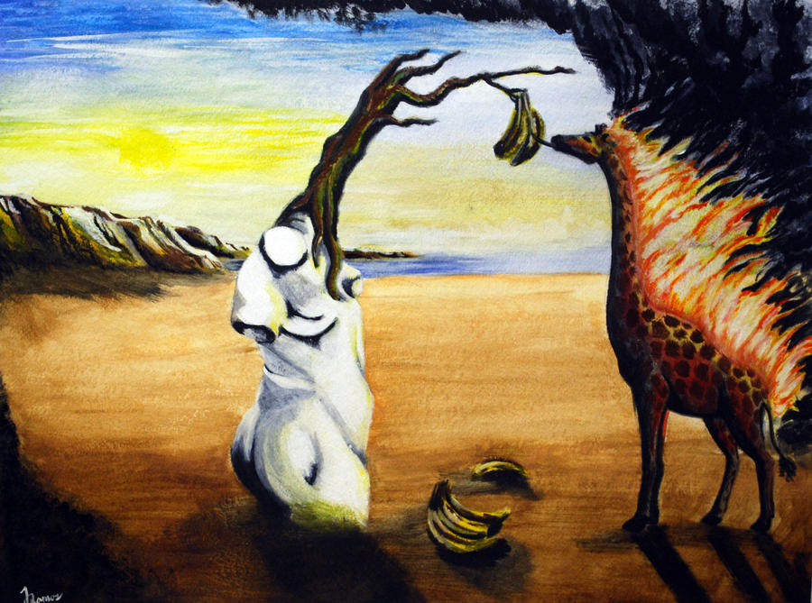 Giraffe Painting For Sale