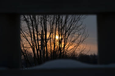 window to the winter world by wiak