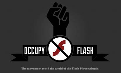 Occupy flash by wiak