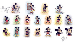 Disneys Mickey In Action by jeremiasch