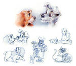 Lady and the Tramp - Sketches