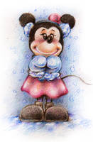 Minnie Mouse by jeremiasch