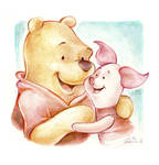 Whinnie the Pooh and Piglet