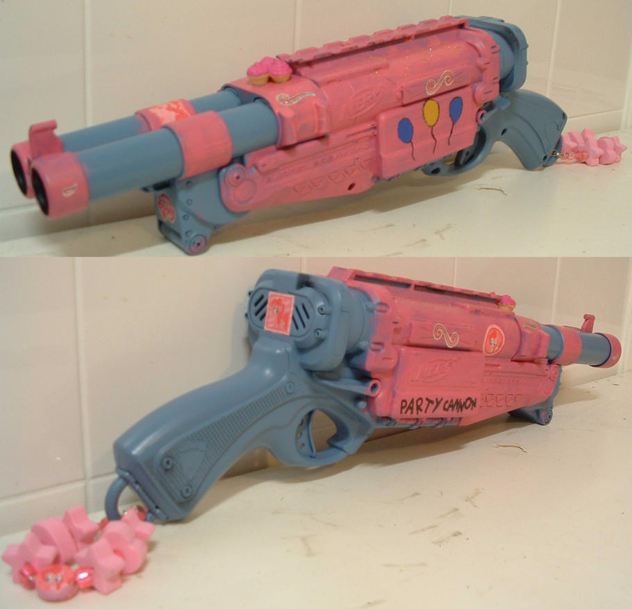 Nerf gun Party Cannon. by Gruntoks