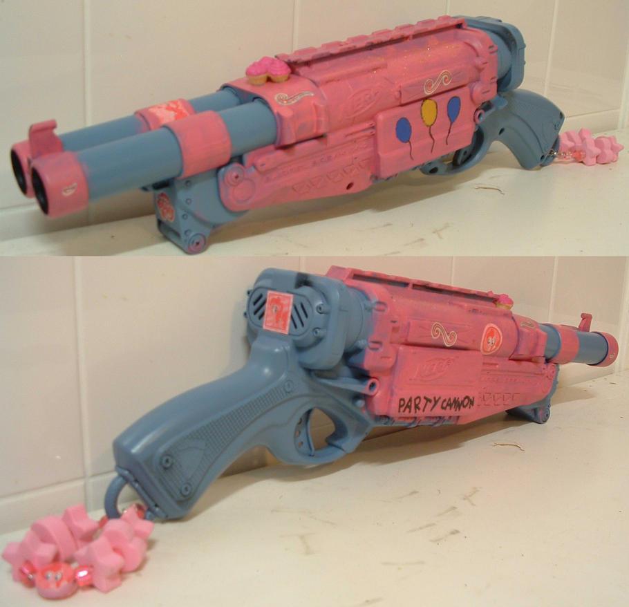 Nerf gun Party Cannon. by Gruntoks