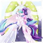 Celestia x Starlight Kiss (2/6) (commission)