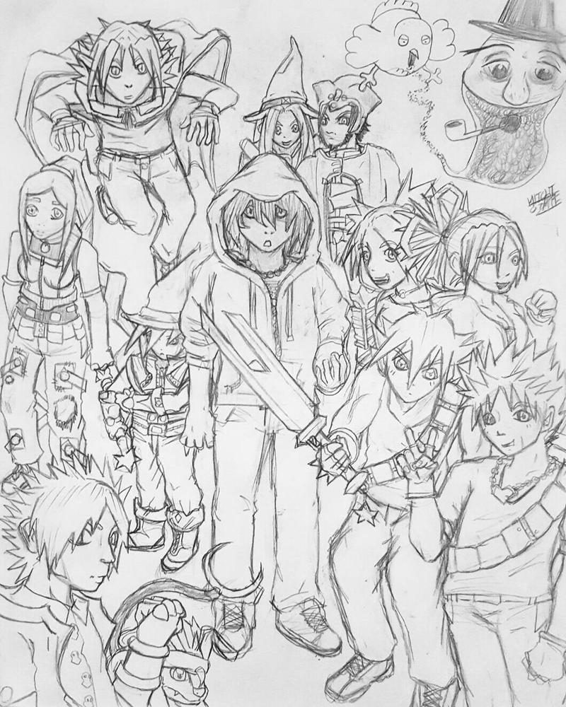 2007 original character compilation  by GhostOf-KNIGHTMARE