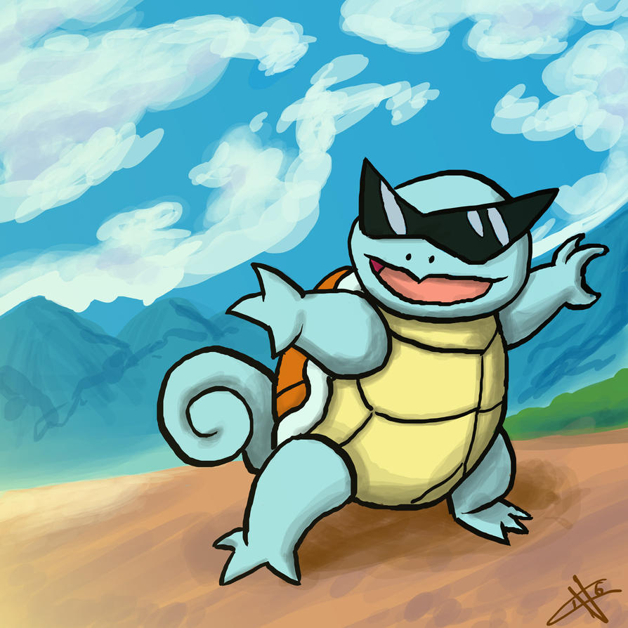 Squirtle by GhostOf-KNIGHTMARE