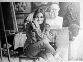 Artist's Studio with Lera