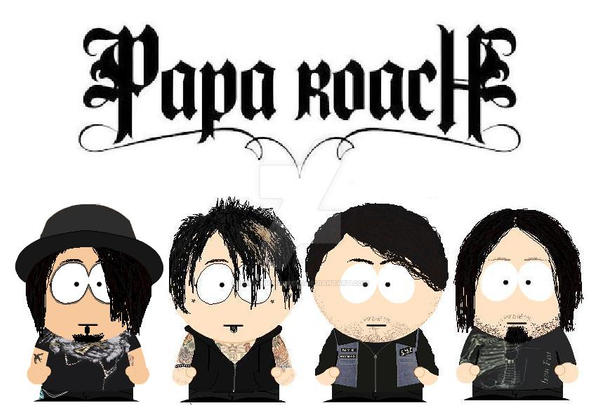 South Park Papa Roach by lord-nightbreed